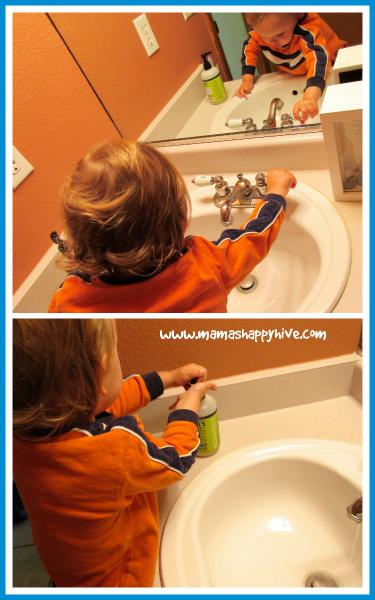 Washing Hands - www.mamashappyhive.com