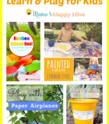 Summer Outdoor Learn and Play for Kids {Link Party # 12}