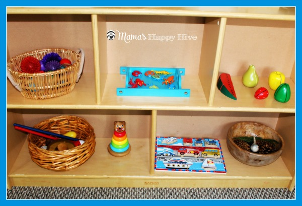 First Shelves - www.mamashappyhive.com