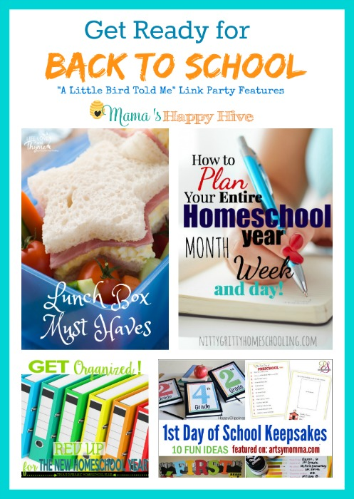 Get Ready for Back to School {Link Party #18}