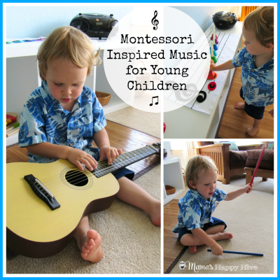 Montessori Inspired Music for Young Children