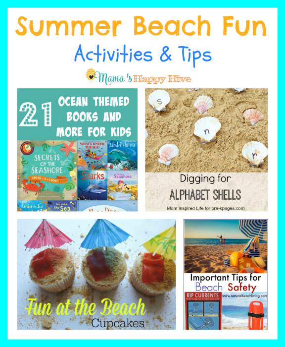 Summer Beach Fun Activities {Link Party #15}