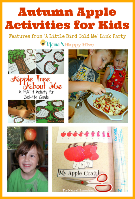 Autumn Apple Activities for Kids {Link Party #20}