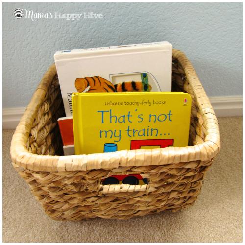 Book Basket - www.mamashappyhive.com