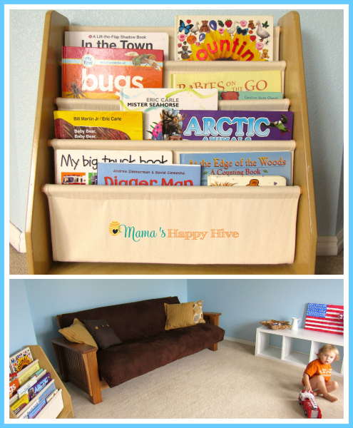 Bookshelves - www.mamashappyhive.com