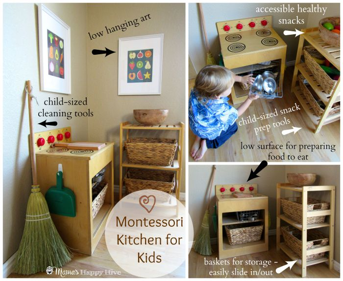 Tips For Montessori Spaces At Home Mama S Happy Hive