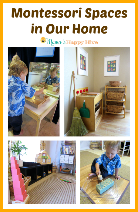 Montessori Spaces in Our Home - www.mamashappyhive.com
