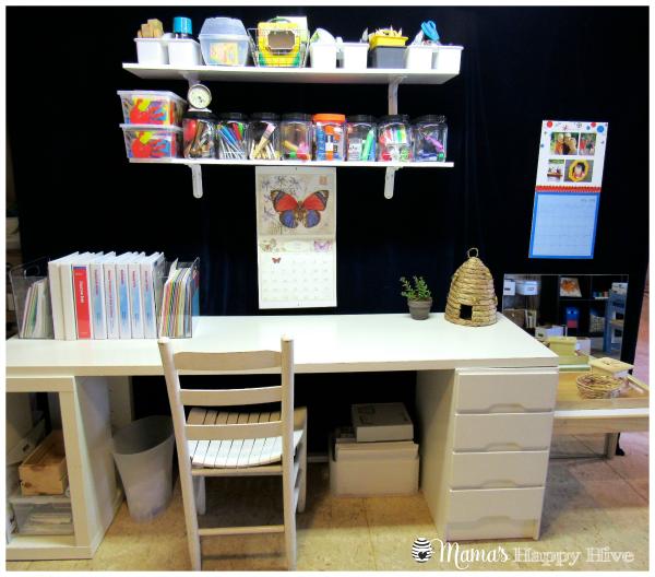 My Desk - www.mamashappyhive.com