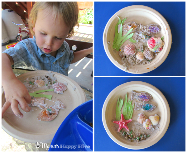 Sensory Play Ocean Art for Kids