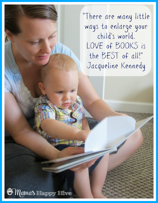 Read to Your Child - www.mamashappyhive.com
