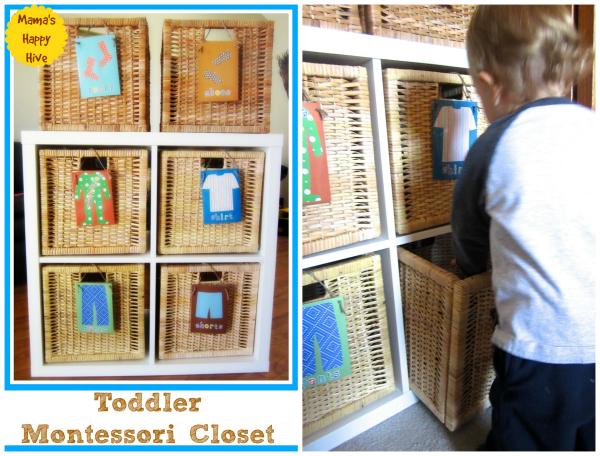 Toddler Closet - www.mamashappyhive.com