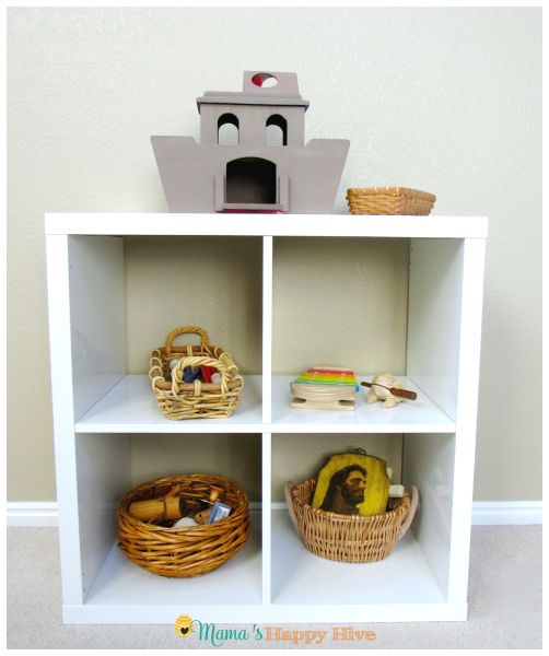Worship Shelves - www.mamashappyhive.com