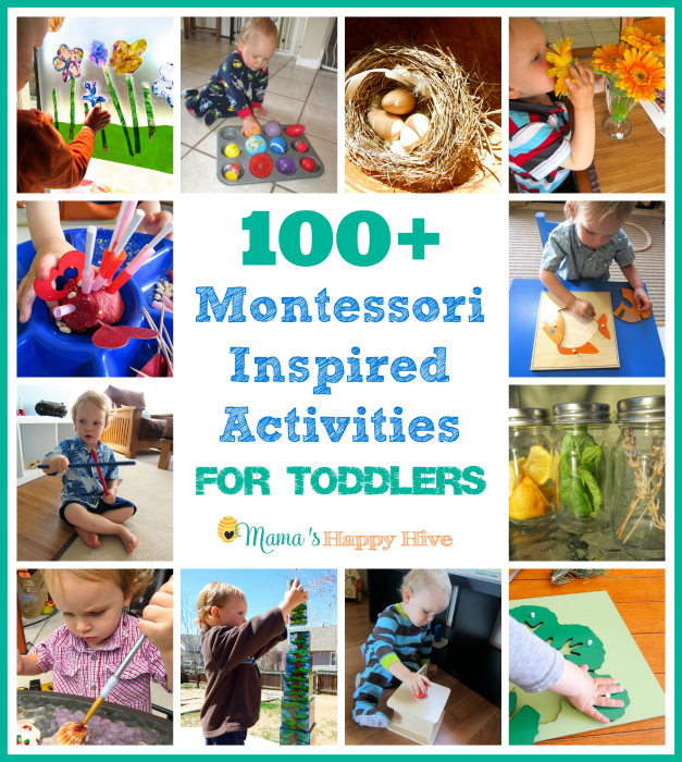 100 Montessori Inspired Activities for Toddlers