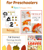 Fall Tree Activities for Preschoolers
