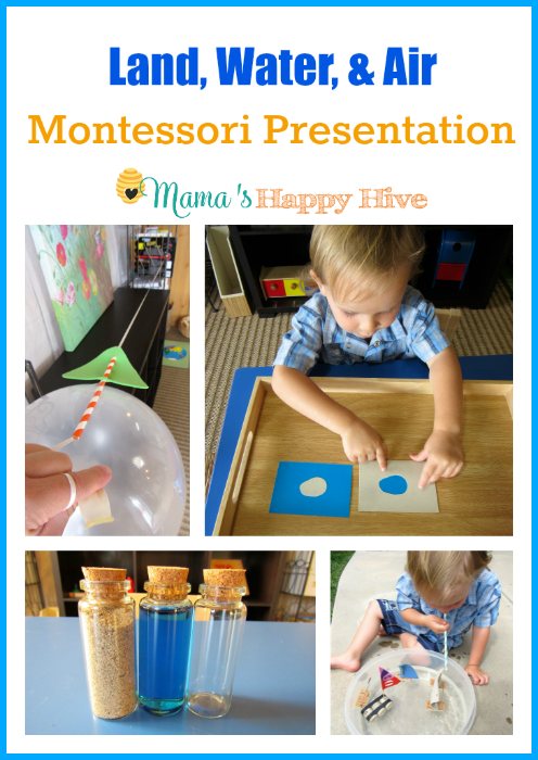 Land, Water, and Air Montessori Presentation