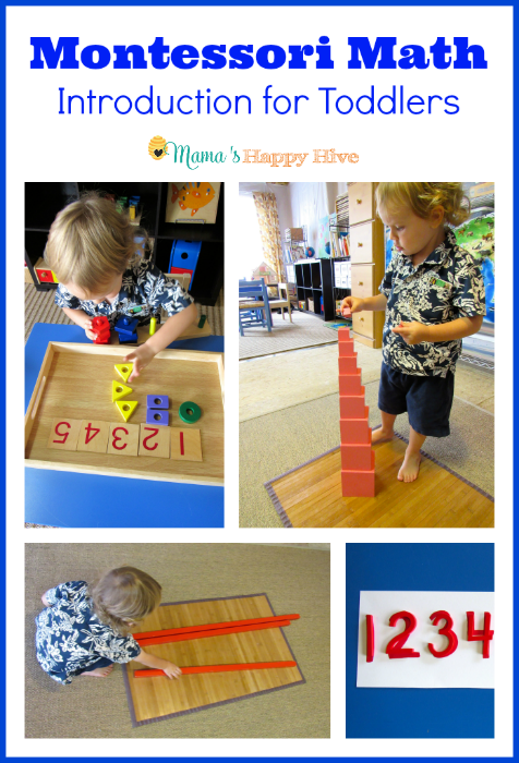 Introducing Montessori Math to Toddlers
