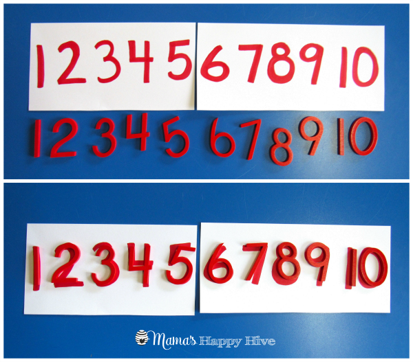 Red Number Line - www.mamashappyhive.com