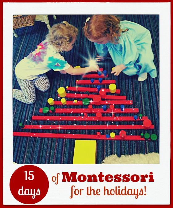 15 Days of Montessori for the Holidays Tree