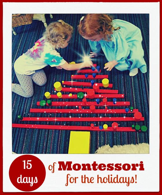 15 Days of Montessori for the Holidays Tree