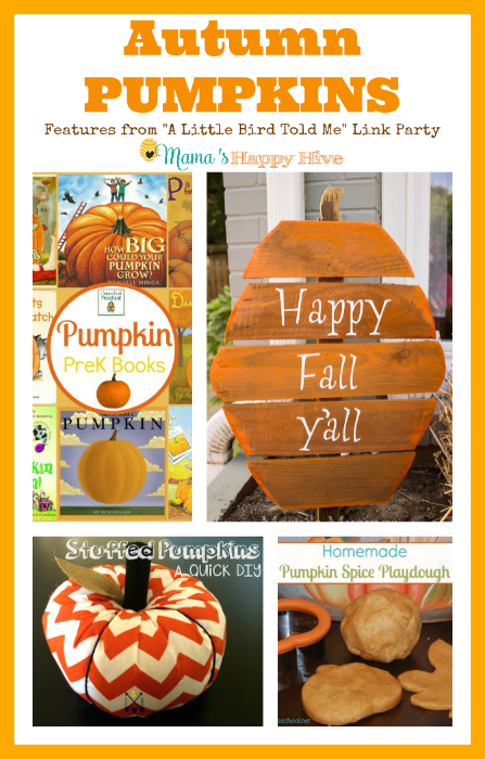 Autumn Pumpkins {Link Party Features}