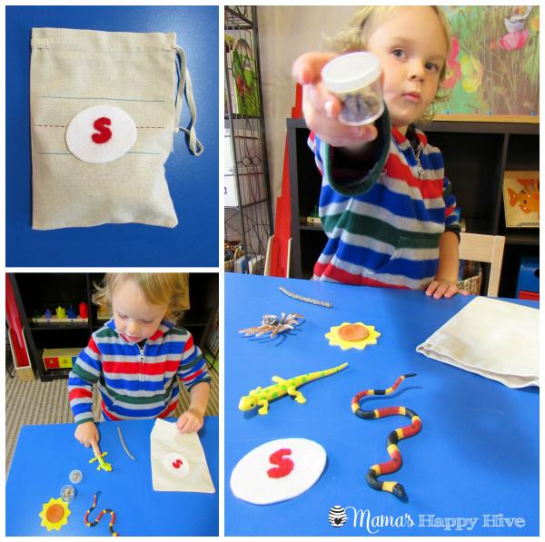 Montessori Pre-Reading Activities - www.mamashappyhive.com