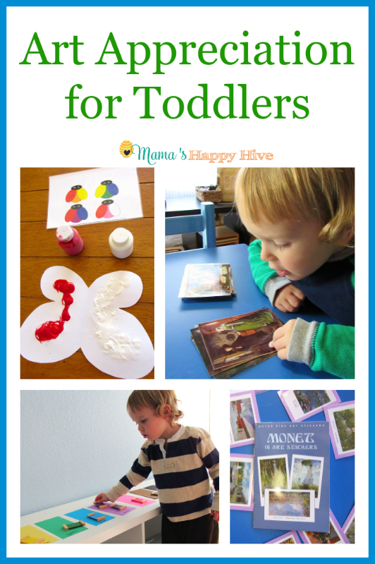 Art Appreciation for Toddlers 2 - www.mamashappyhive.com