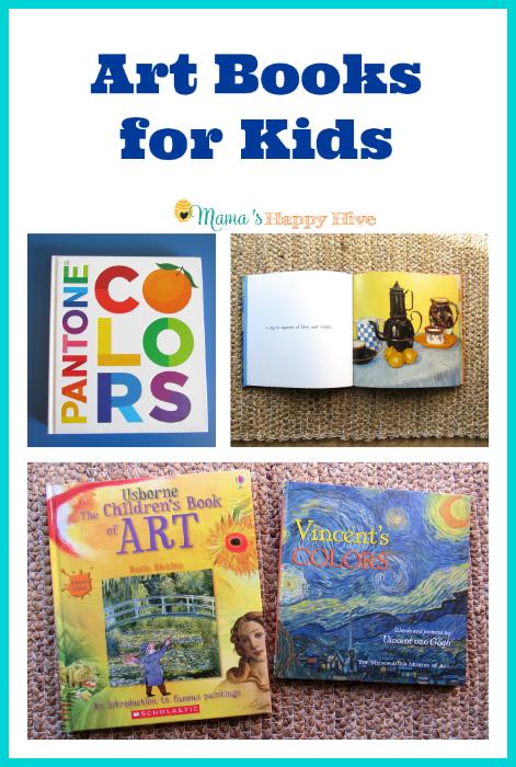 Art Books for Kids - www.mamashappyhive.com