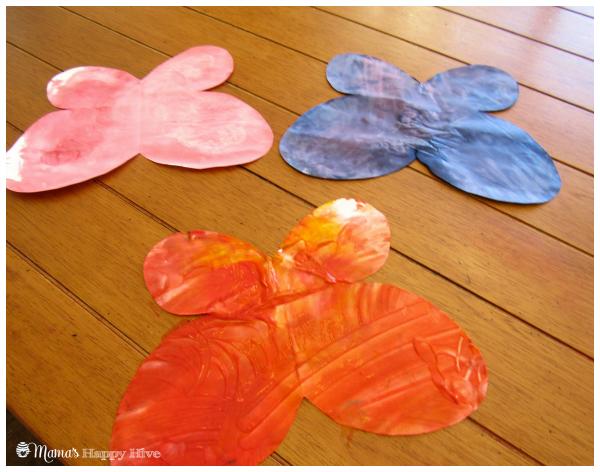 Three Butterflies - www.mamashappyhive.com