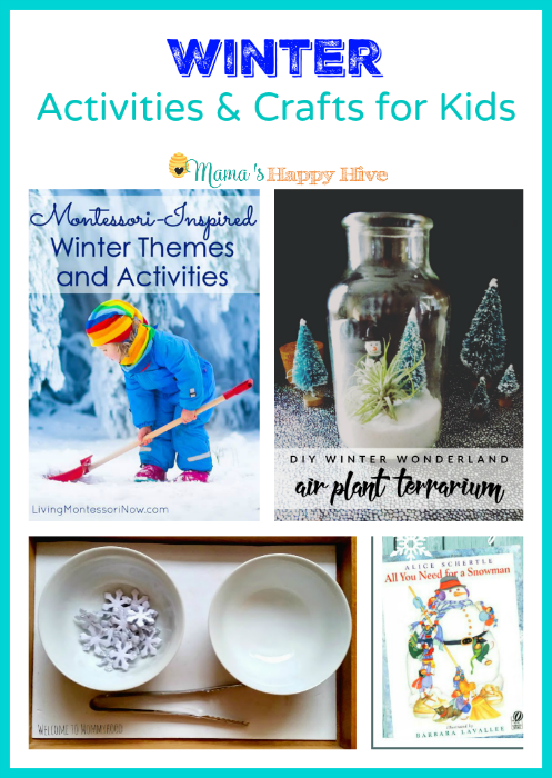 Winter Activities and Crafts for Kids