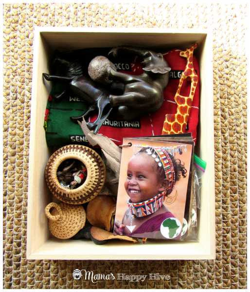 African Continent Box - www.mamashappyhive.com