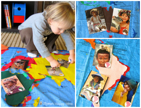 Continents and Children - www.mamashappyhive.com