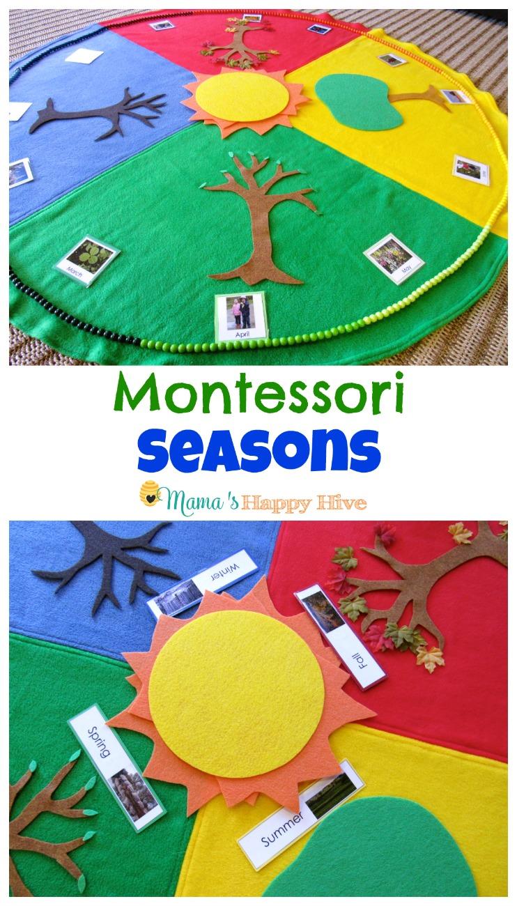 5 Montessori Seasonal Activities Mama S Happy Hive