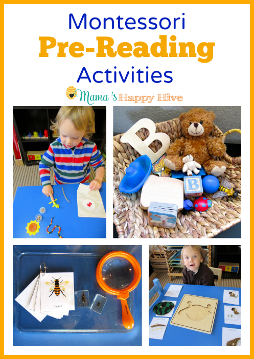 Montessori Pre-Reading Activities