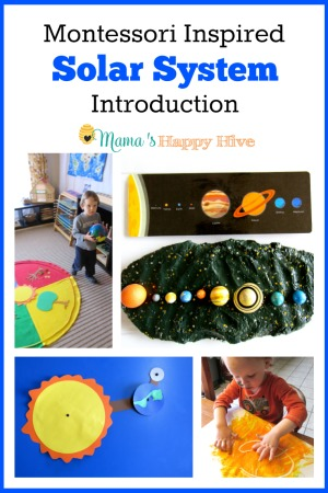 Montessori Inspired Solar System Introduction