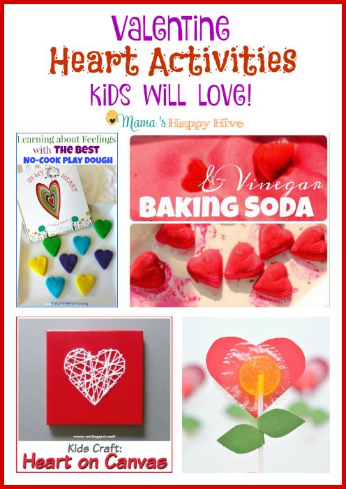 Valentine Heart Activities