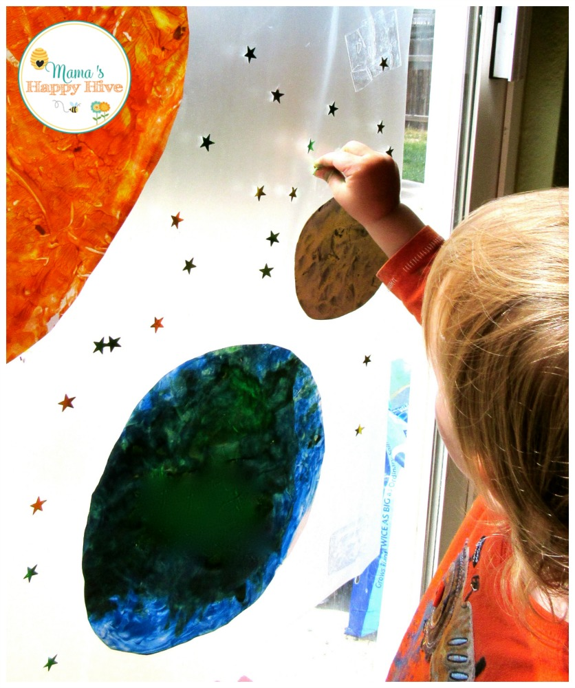 Window Art - www.mamashappyhive.com
