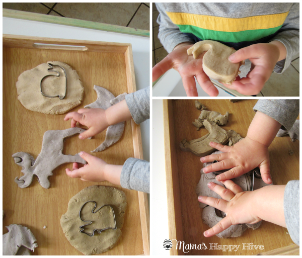 Forest Animals in Play Dough - www.mamashappyhive.com