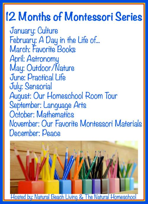 Ten talented Montessori bloggers will take you on a journey this year through each of these topics. You do not want to miss it! - www.mamashappyhive.com