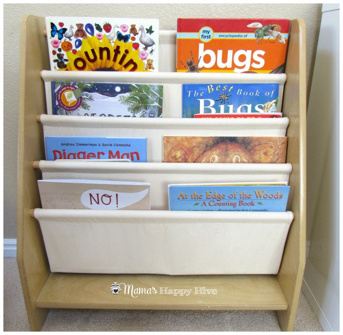 Book Shelf - www.mamashappyhive.com