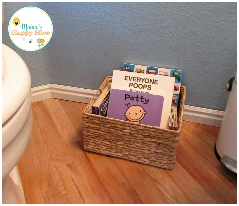 Potty Books - www.mamashappyhive.com