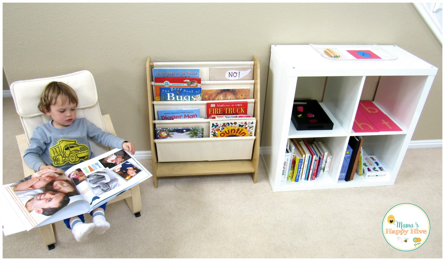 Reading Nook Fun - www.mamashappyhive.com