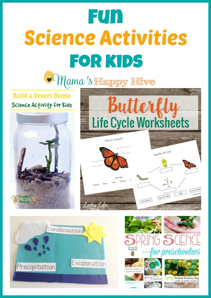 Fun Science Activities For Kids Mama 39 S Happy Hive