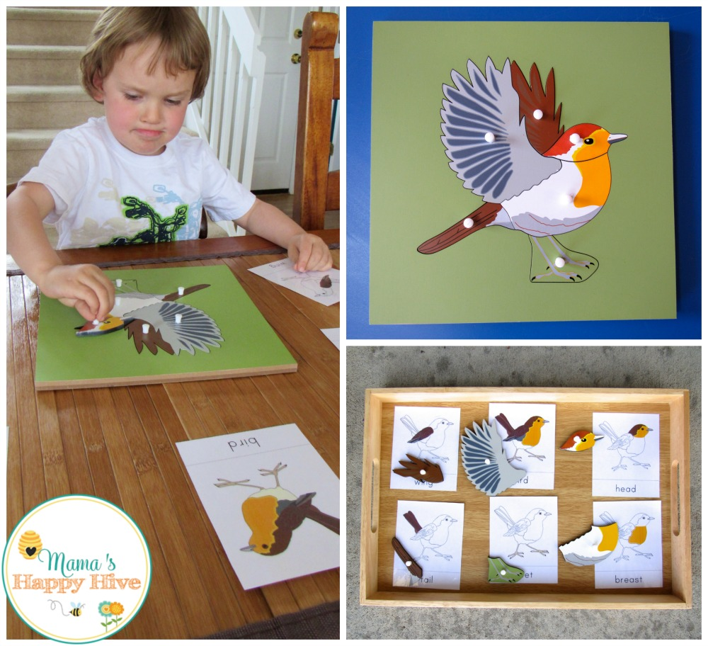 Bird Puzzle - www.mamashappyhive.com