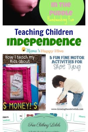Teaching Children Independence