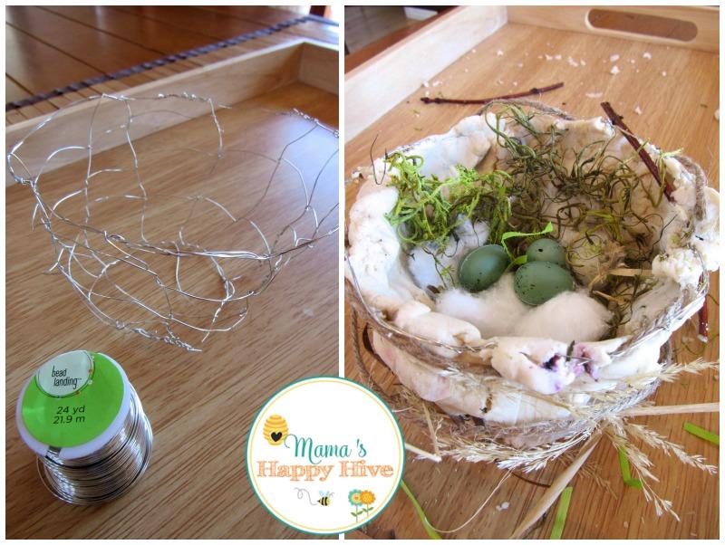 Wire Nest - www.mamashappyhive.com
