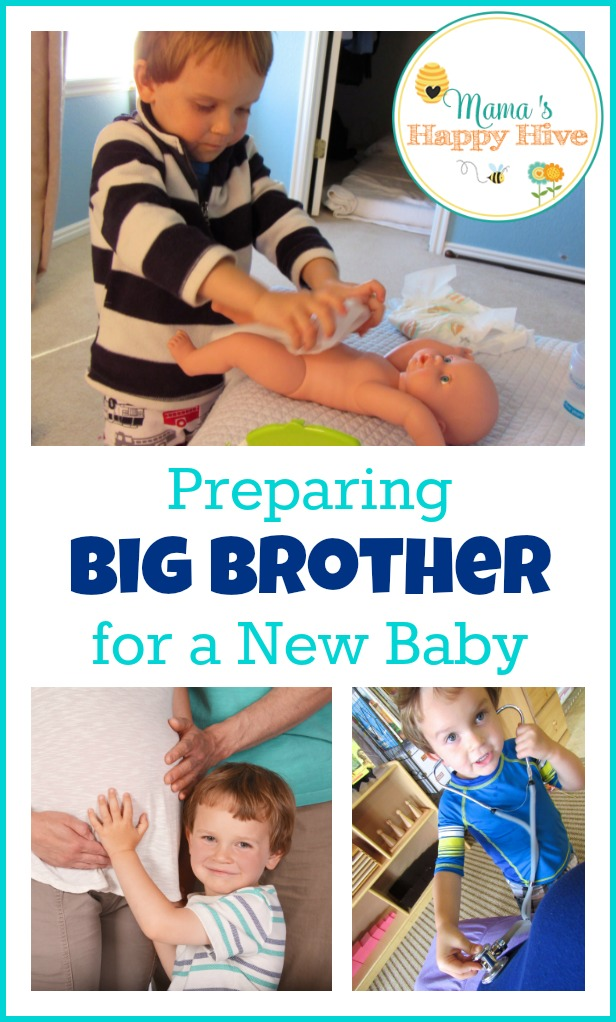 "This ""big brother"" unit study includes 5 activities that help in preparing big brother for a new baby. These activities can be used for a big sister too! - www.mamashappyhive.com"