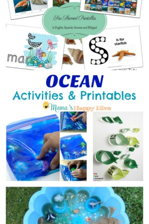 Ocean Activities and Printables