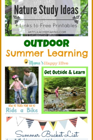 Outdoor Summer Learning