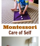 Montessori Care of Self