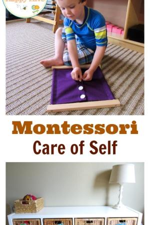 Montessori Care of Self